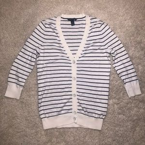 5/$20 Tommy Hilfiger size xs striped cardigan